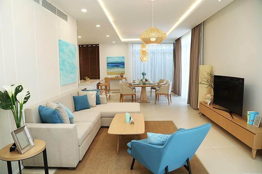 Phòng khách Cam Ranh Mystery Villas