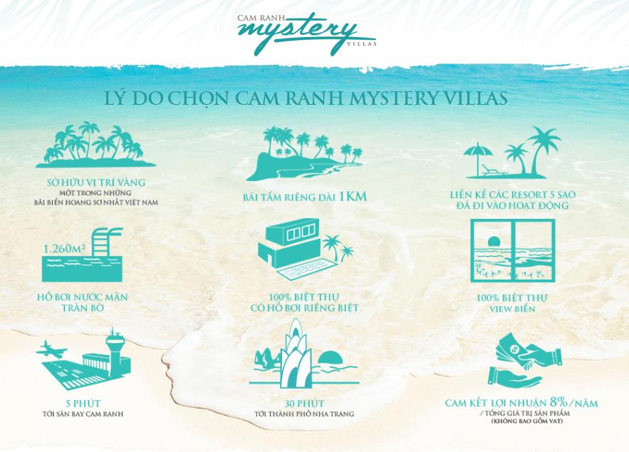 Các lý do bạn nên chọn Cam Ranh Mystery Villas