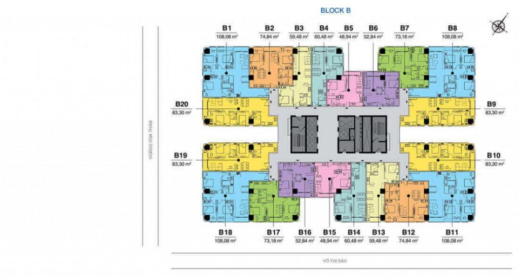 Block B vũng tàu melody