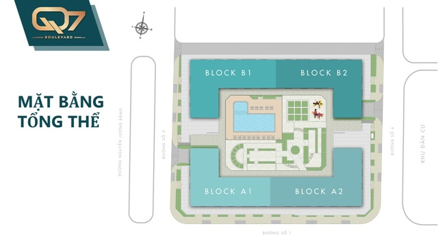 Mặt bằng căn hộ q7 boulevard