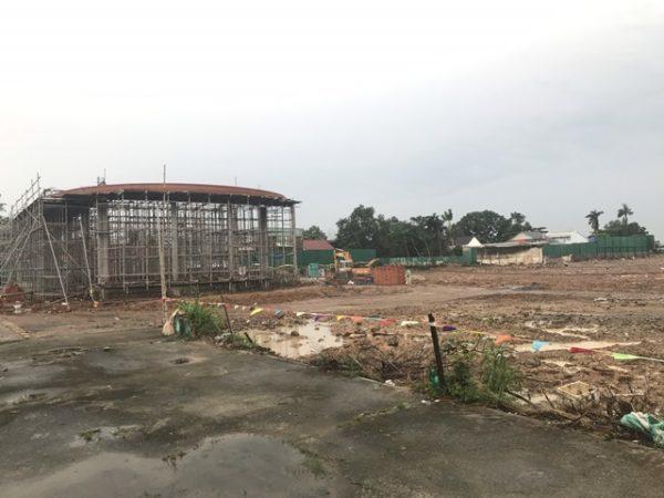 Hình ảnh tiến độ thi công dự án căn hộ Đại Phú Bình Dương