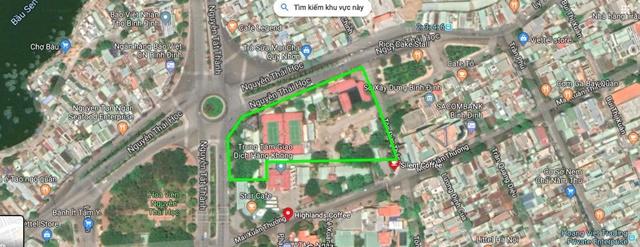 Vị Trí Dự án số 1 Nguyễn Tất Thành Quy Nhơn