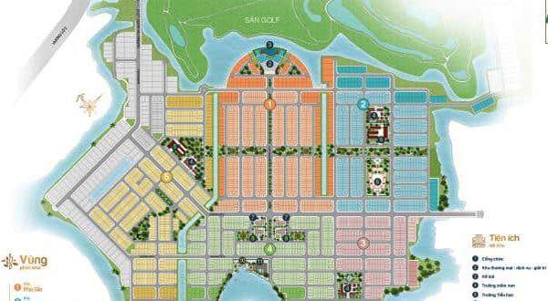 Mặt bằng dự án Biên Hòa New City Hưng Thịnh