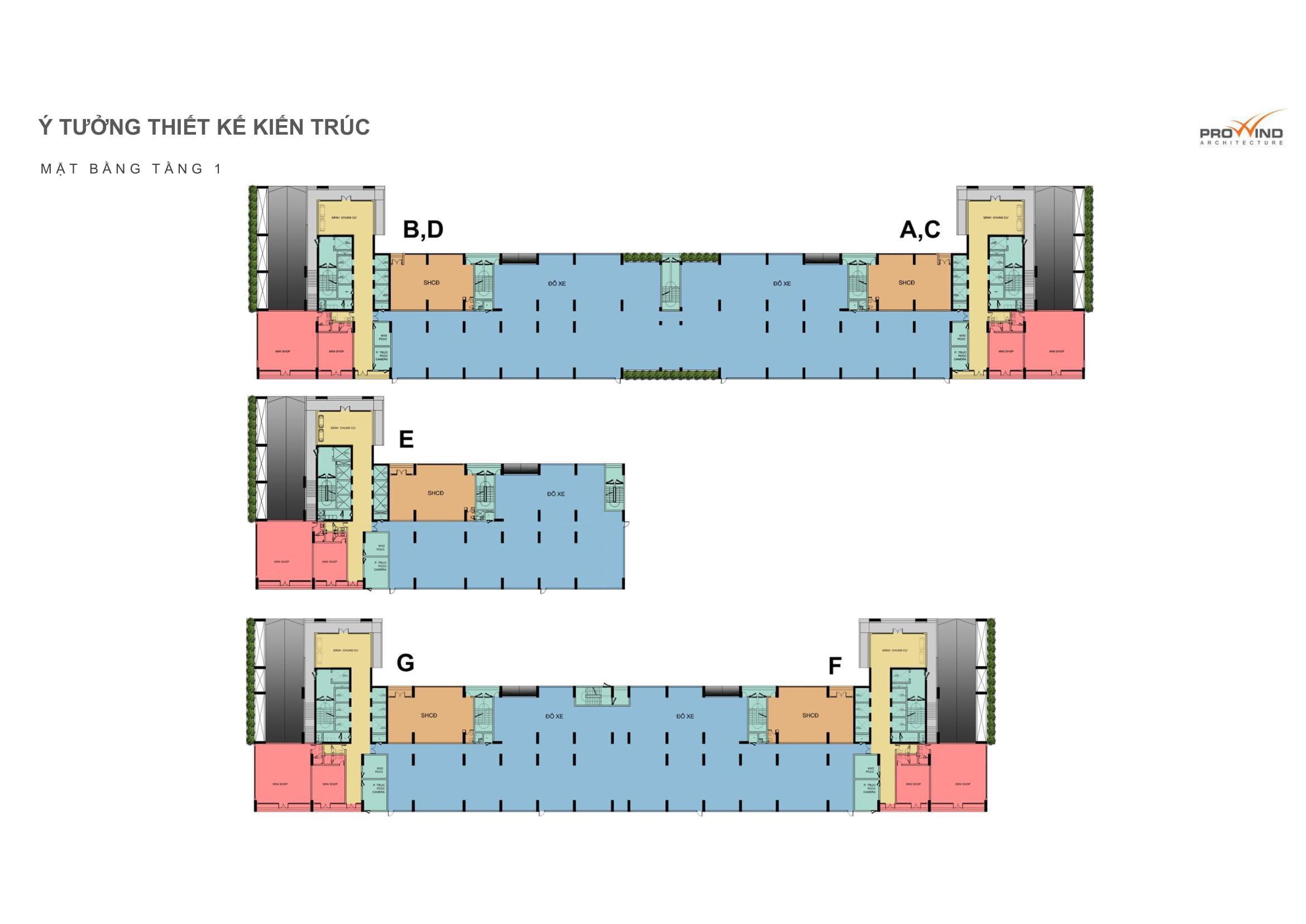 Mặt bằng căn hộ hồ tràm complex