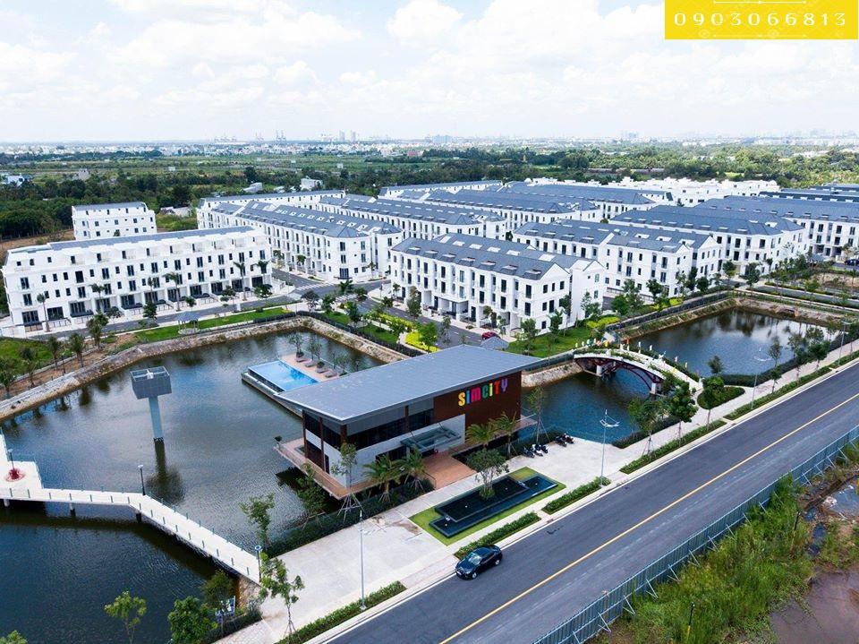 dự án nhà phố biệt thự