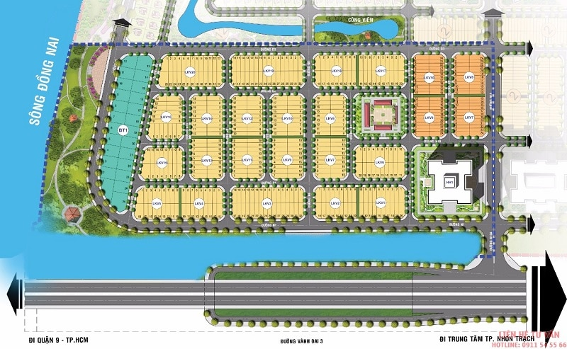 Đất nền - nhà phố - biệt thự - shophouse - mua bán - ký gửi - cho thuê - King Bay nhơn trạch Đại Phước đang đón đầu các ngọn sóng tăng giá