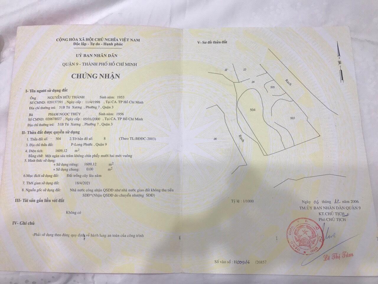 Nhận mua bán - ký gửi - tra quy hoạch - nhà vườn - đất vườn - sang nhượng - cho thuê - đất view sông long phước
