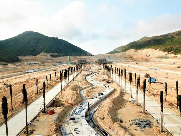 Cập Nhật Tiến Độ Dự án Hải Giang Quy Nhơn thương mại là biệt thự - villas - đất nền - khu đô thị - Hai Giang Merry Land là một siêu dự án