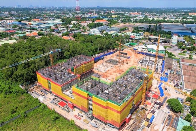 Propertyxvn – Gửi đến quý khách hàng hình ảnh về tiến độ thi công dự án căn hộ Lavita Thuận An mới nhất tháng 6/2021 của CĐT Hưng Thịnh.