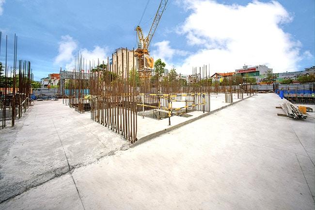 Propertyxvn – Gửi đến quý khách hàng hình ảnh về tiến độ thi công mới nhất tháng 6/2021 Dự Án Grand Center Quy Nhơncủa CĐT Hưng Thịnh