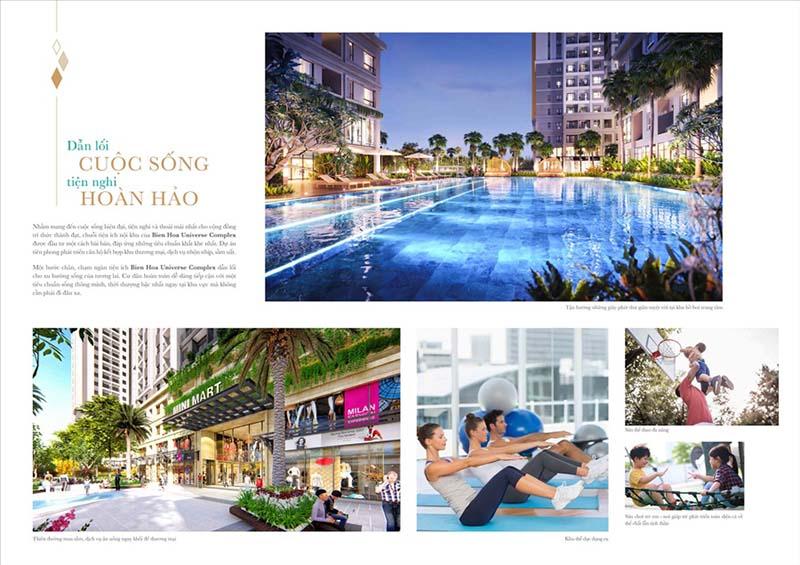 Biên Hòa Universe Complexlà dự án căn hộ Smarthome đầu tiên của Tập đoàn Hưng Thịnh tọa lạc mặt tiền Xa Lộ Hà Nội tại trung tâm Tp Biên Hòa