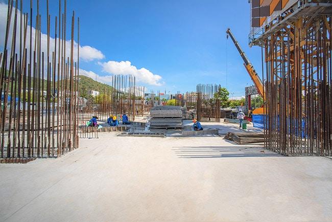 Propertyxvn – Gửi đến quý khách hàng hình ảnh về tiến độ thi công dự án Grand Center Quy Nhơn mới nhất tháng 7/2021 của tập đoànHưng Thịnh