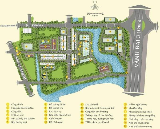 Dự án Đất nền – Nhà phố – Biệt thự – Căn hộ - chung cư - MT Eastmark City Trường Lưu, phường Long Trường, Quận 9, Công ty nhà Điền Phúc Thành
