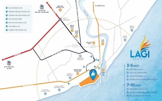 Căn hộ - nhà phố – biệt thự – khu đô thị - Lagi New City chính là dự án đầu tiên tại Lagi bình thuận được quy hoạch trên phân khúc này.